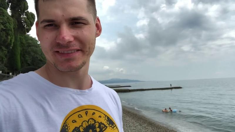 Абхазия.Куда сходить?Часть1.Новый Афон.Келья Симона.Пляж.Водопад