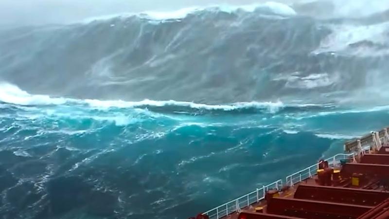 САМАЯ БОЛЬШАЯ ВОЛНА В ИСТОРИИ Самое большое цунами
