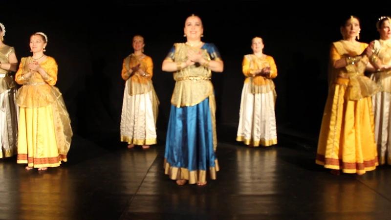 Kathak Shuddh Nritya Teentaal School of Guru Ashwani Nigam at Saints Petersburg SANSB