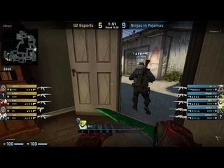 CS:GO POV Demo NiP REZ (23/13) vs G2 (de_inferno)