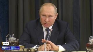Наша ДИСКУССИЯ закончена! Путин ОШАРАШИЛ наглого американца!