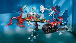 LEGO Spider-Man 76113 - Спайдерцикл спешит на помощь! | Обзор