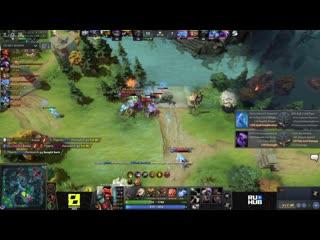 Team spirit vs cyber legacy, game 1