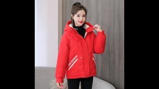 Isenmal 2020 зимняя куртка женские пальто куртки с капюшоном парки толстые теплые ватные женские свободное короткое пальто