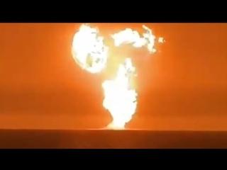 Massive explosion in the Caspian Sea || July 5, 2021