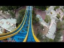 Superman Escape From Krypton Front Seat HD POV Backwards Six Flags Magic Mountain