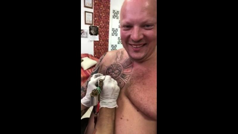 Polynesian tattoo by Rinline (Freehand)