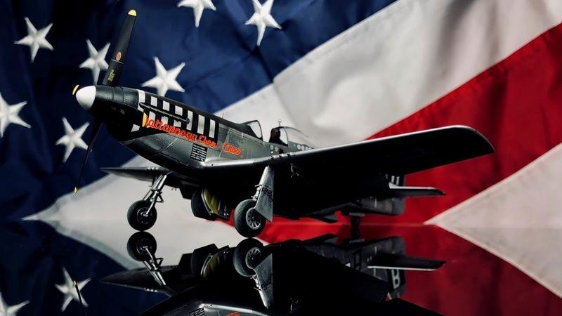 FULL VIDEO BUILD P-51D-5 MUSTANG 1/48 EDUARD