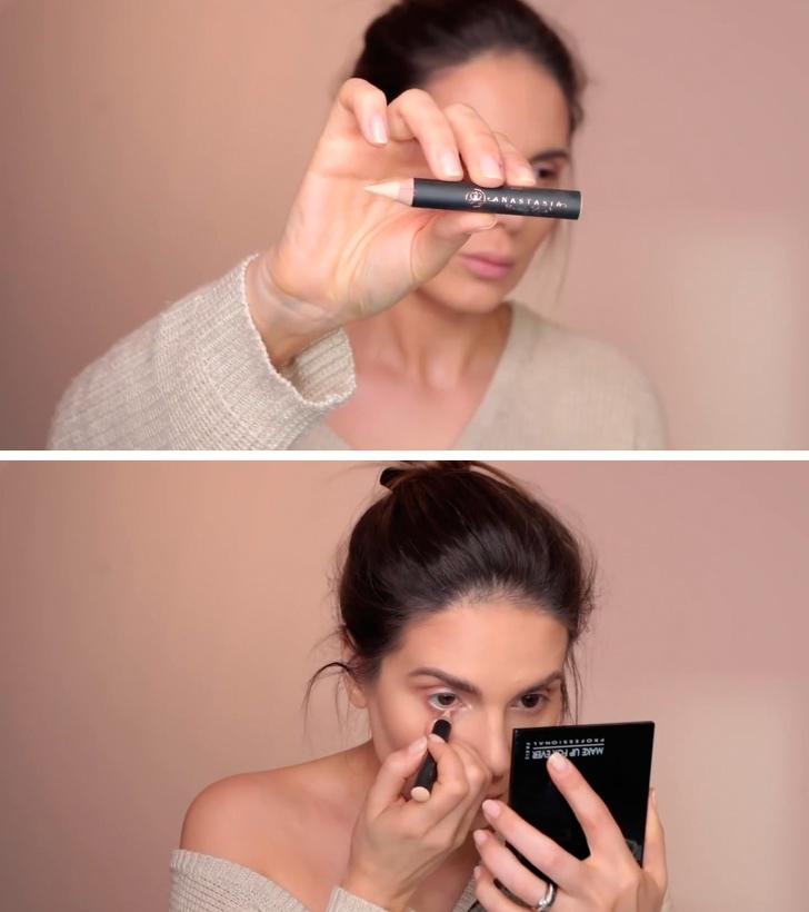 10 трюков профессиональных визажистов, которые пригодятся любой девушке!, изображение №11