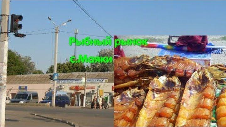 Рынок с Маяки р Днестр Копченая рыба Как травят людей Паразиты Глисты Базар Щука Цена рыбы