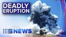 Death toll expected to rise from New Zealand volcano eruption Nine News Australia