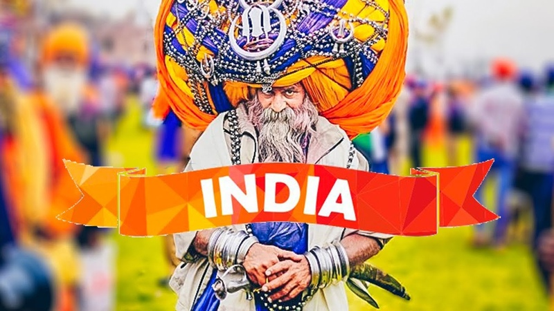 Индия Трущобы Дели Дорога в ГОА
