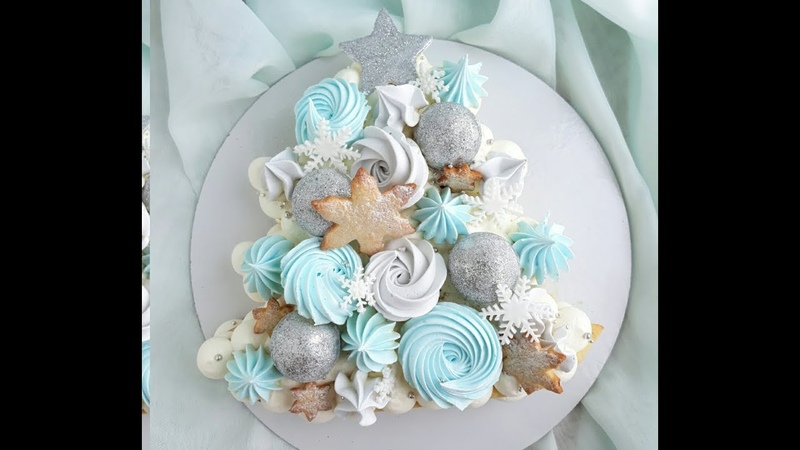 Торт Ёлочка Песочный торт с апельсиновым мармеладом