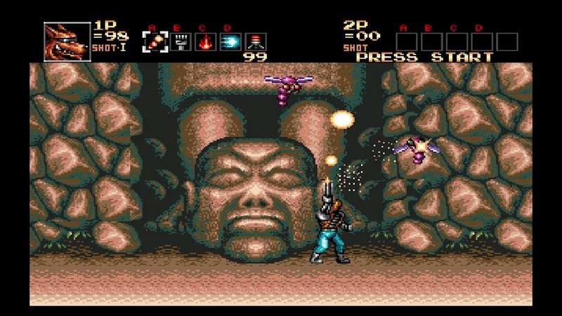 Cheat mod Contra Hard Corps SEGA