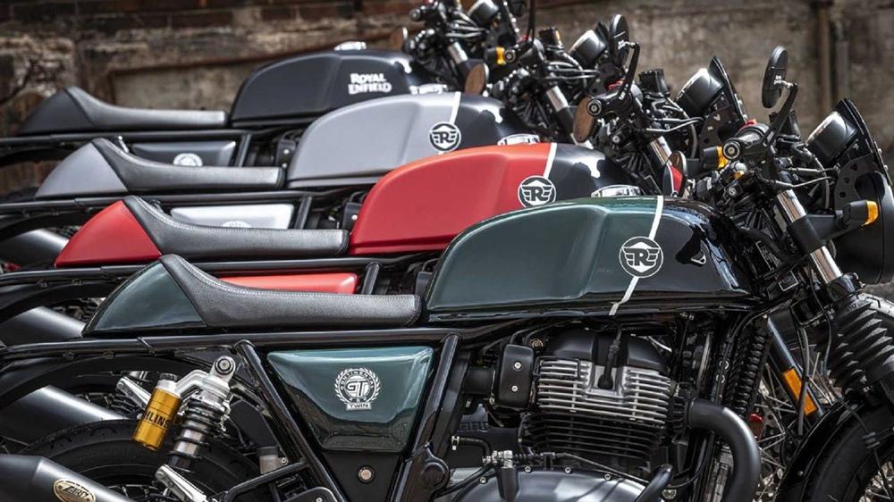 Специальные версии Royal Enfield 650 Valentino Motor Edition (только для Италии)