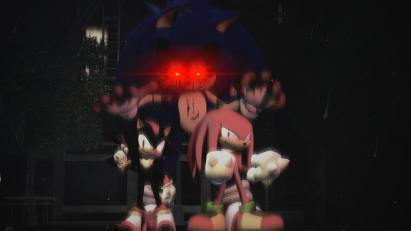 Sonic exe VS Knuckles Shadow