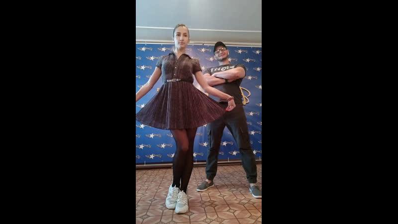 Бачата в Самаре   Денис Новиков и Анастасия Павленко   Оставайся дома   DANCE and LIVE   Самара   2020