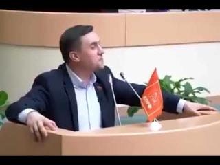 Речь Бондаренко в Саратовской думе. Добиться такого позорища для Володина, дорогого стоит.
