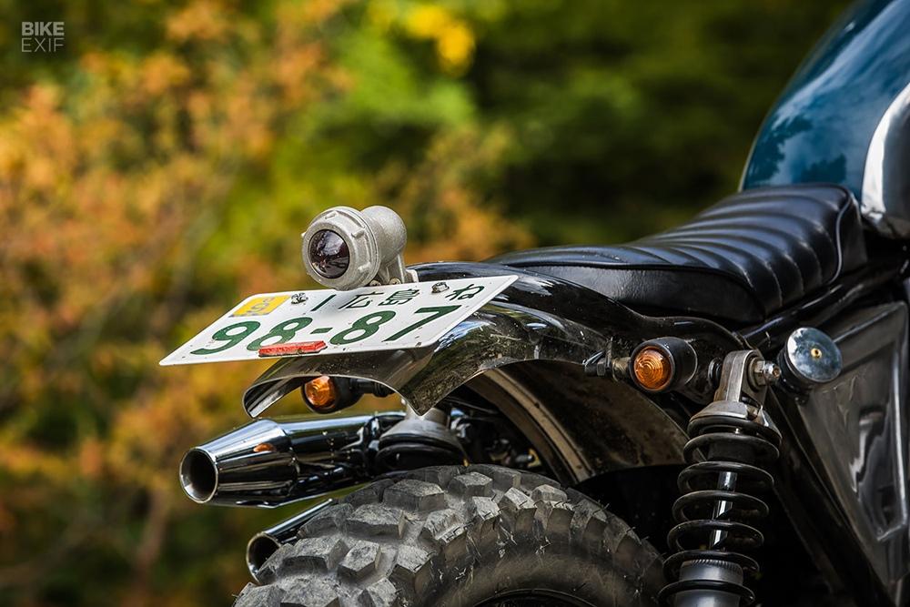 Heiwa MC: кастом Suzuki TU250 Grasstracker