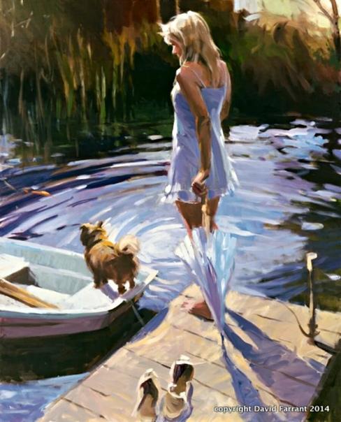 Живописец Дэвид Фаррант родился в 1938 году в столице Великобритании. Уже в начале творческого пути художник достиг небывалого успеха и завоевал мировое признание.Живописи мастер обучался в