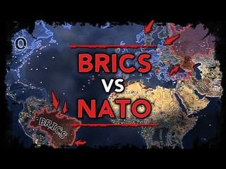 [HoI4] AI-Only Timelapse - BRICS vs NATO