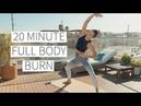20 MINUTE FULL BODY BURN No equipment w modifications proper form cues Dr LA Thoma Gustin