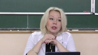 Лекция зав. кафедрой дерматовенерологии с курсом гигиены Толмачевой Н. В.