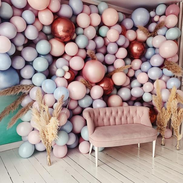 фотостудия с шариками просто работник полей
