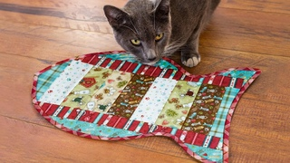 Tips for Making the June Tailor Quilt As You Go Pet Placemat | a Shabby Fabrics Tutorial