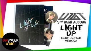Up10tion 업텐션 9th Album ⚡💡🎊🪁🏮 - Light Up Light Hunter Version Album Unboxing