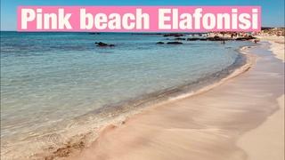 Еlafonisi 4K,Crete, no comments.Элафониси,пляжи с розовым песком