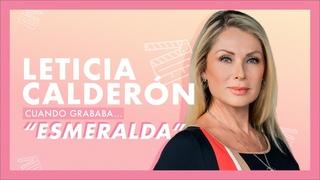 Leticia Calderón, cuando grababa… Esmeralda | Tlnovelas