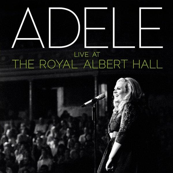 Adele album Live At The Royal Albert Hall