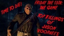 Top killings of Jason Voorhees - Friday the 13th: The Game