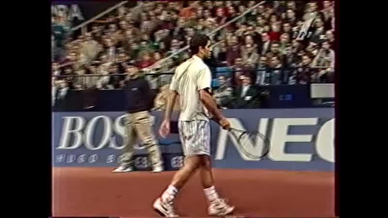 Финал кубка Дэвиса 1995 Сампрас Кафельников