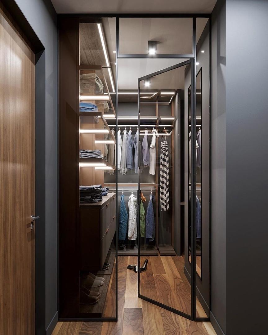 Дизайн-проект просторной квартиры (116м²)
