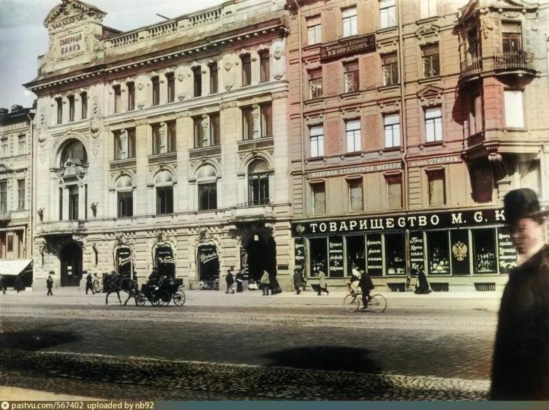 Эксклюзивные цветные фотографии Петербурга начала 20 века - часть 2, изображение №4