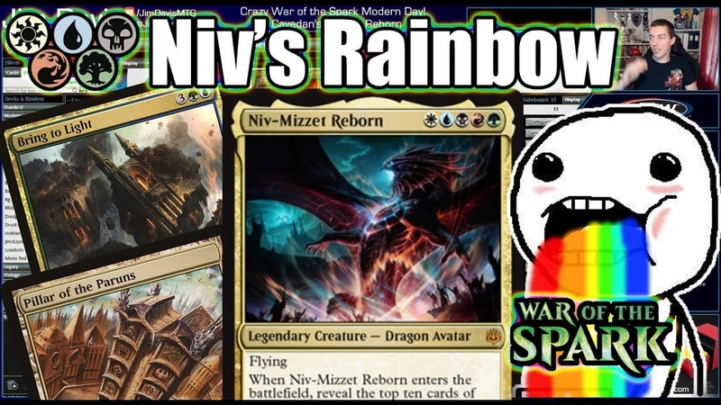 Niv Mizzet Channels All The Colors Of The Modern Rainbow