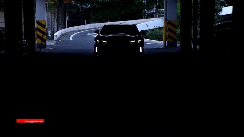 Camaro Chevrolet SST1 2020 Автомобиль с другой планеты черный монстр