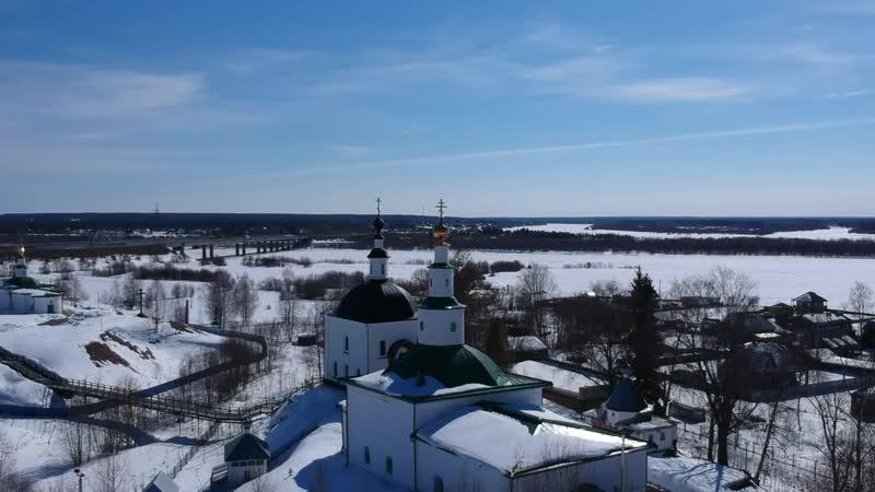 Усть-Вымь. Апрель 2019