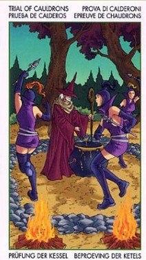 Таро Юных Ведьм. Младшие Арканы. Котлы F3VBnRubzno