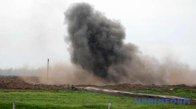 На Донбассе из-за взрыва умер мирный житель