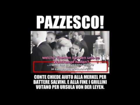 Geheime Absprache zwischen Merkel und Conte