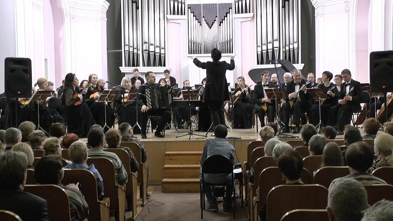 1 Г Шендерев Волжские картины Концерт для баяна с оркестром С Сойменов