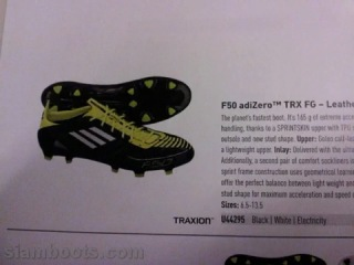upcoming 2011 soccer boots
