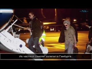 2010-10-26 - Leute heute - KAULITZ TWINS go to LA с русскими субтитрами