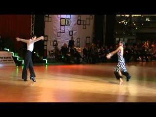IDSF INTERNATIONAL OPEN LATIN / DSFO 2011 / Charles-Guillaume and Elena  -- solo samba