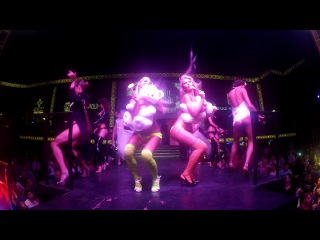 Dream girls show aura club kemer