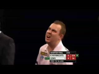 Adrian Lewis vs Kim Huybrechts (Grand Slam of Darts 2013 / Quarter Final)