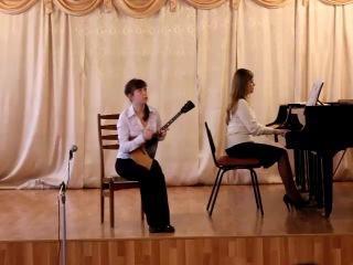 Кристина Тарабан, ДМШ им. С.М. Старикова, г.Тамбов, 6-й класс